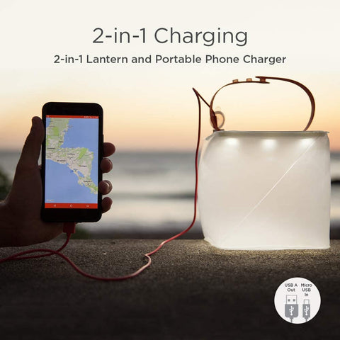 2-in-1 Solar Inflatable Light