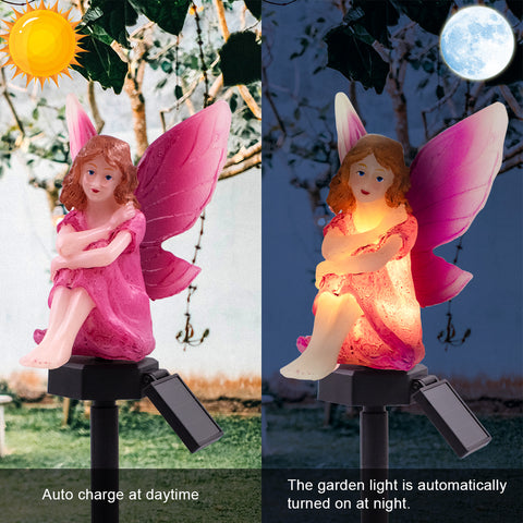 Flower Fairy Solar Light