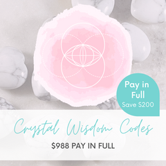 Crystal Wisdom Codes - Pay in Full