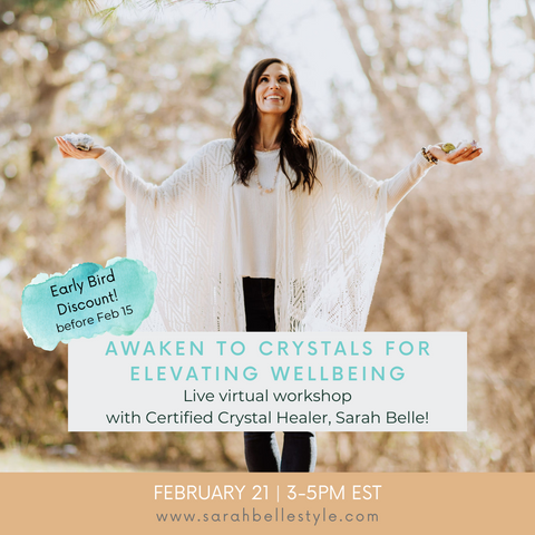 Awaken to Crystals for Improving Wellbeing