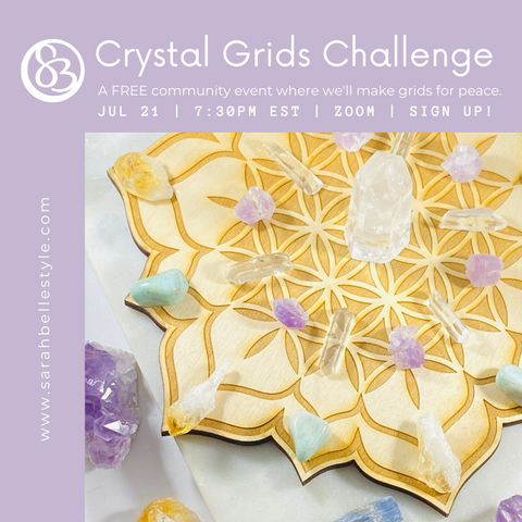 Crystal Grids for Peace Challenge