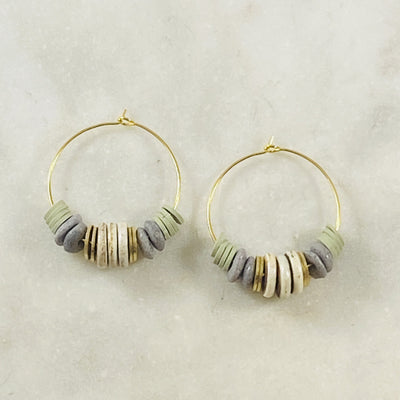 Handmade hoop earrings for jewelry lovers