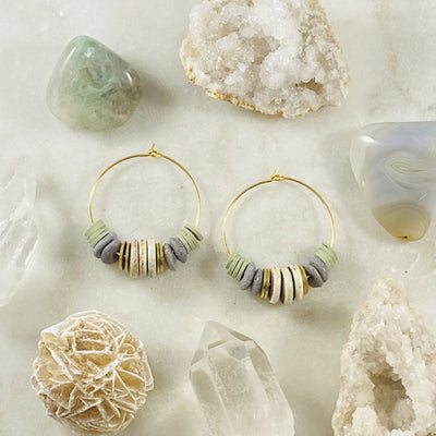 Handmade Addie Hoop Earrings by Sarah Belle