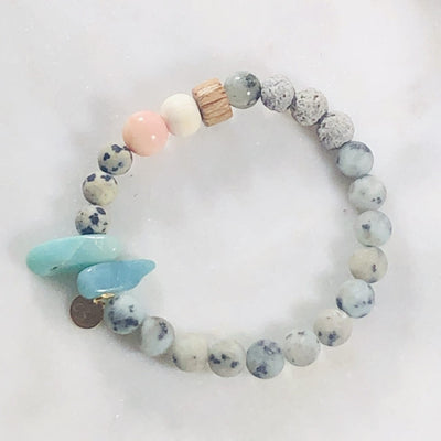 I Am Bracelet Stack (Diffuser) to Promote Awakening, Wholeness, and Healing