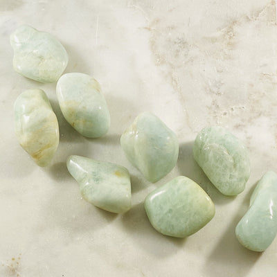 Aquamarine for promoting relaxation