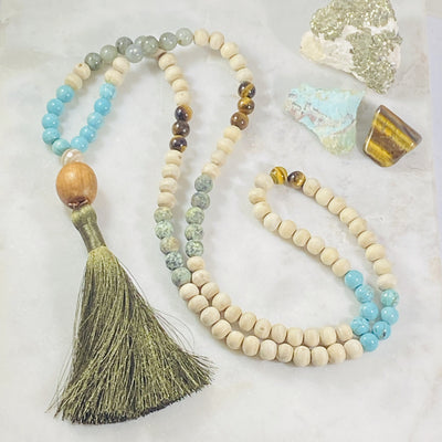 Handmade mala for finding your true purpose