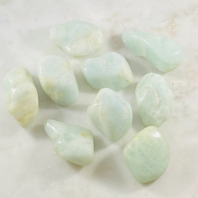 Aquamarine for peaceful vibes