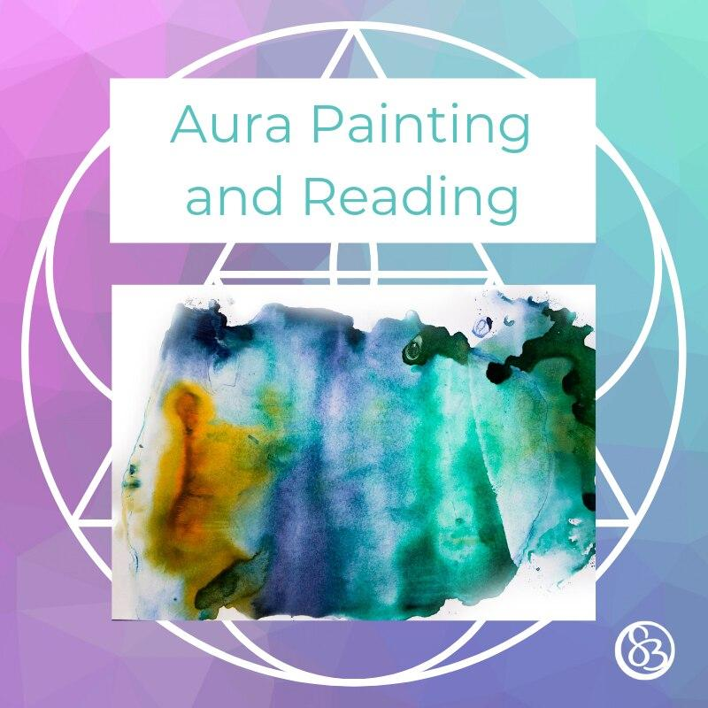 Aura Painting and Reading Customized Spiritual Insight