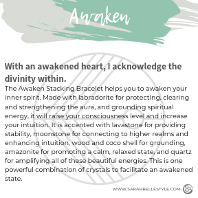 Awaken Stacking Bracelet (Diffuser)