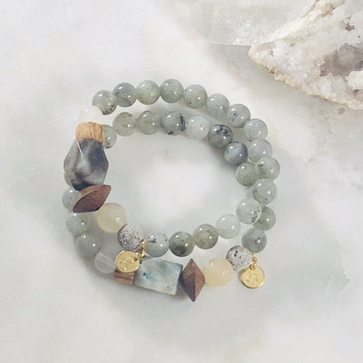 Awaken Stacking Bracelet (Diffuser) for Cleansing and Aura Protection