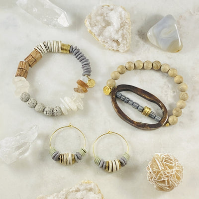 Handmade jewelry with an eclectic vibe and unique gifts by Sarah Belle