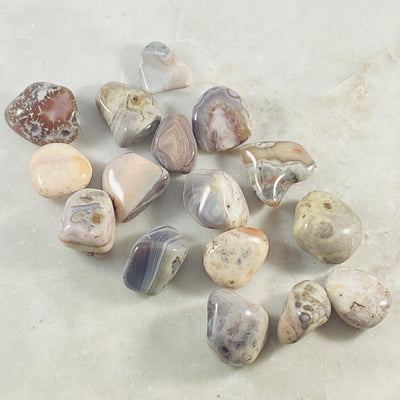 botswana agate for balance, courage and strength