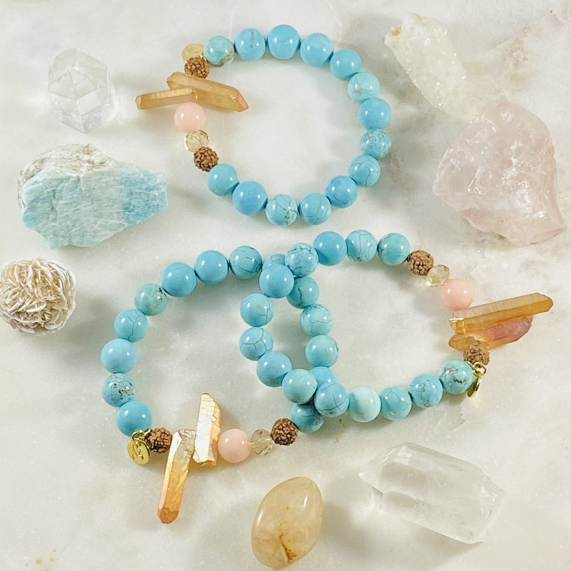 Brighten healing gemstone bracelet