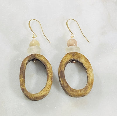 Handmade boho earrings from Sarah Belle