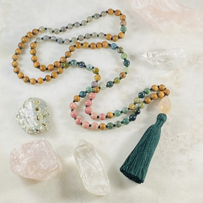 Compassion mala for spiritual practice and meditation by Sarah Belle