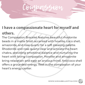 Compassion Stacking Bracelet