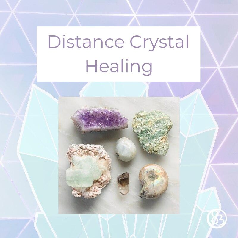 Distance Crystal Healing Session