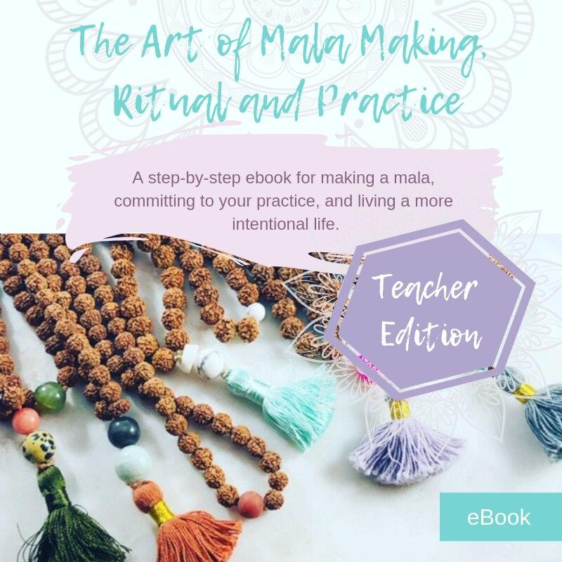Ebook: The Art of Mala Making, Ritual and Practice Teacher Edition