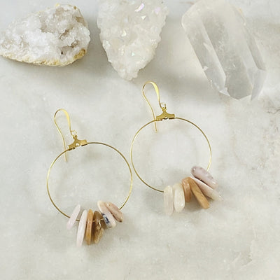 Elliah Earrings handmade by Sarah Belle, makes a perfect gift