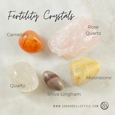 Healing crystals for fertility