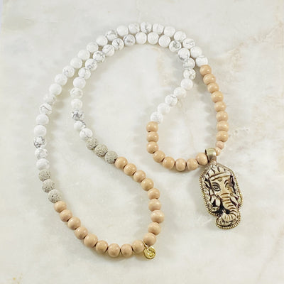 Handmade Ganesha necklace