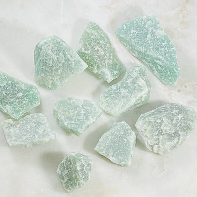 Green Aventurine Healing crystal energy for manifestation of wealth and increasing luck