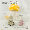 Healing crystals for happiness and joy