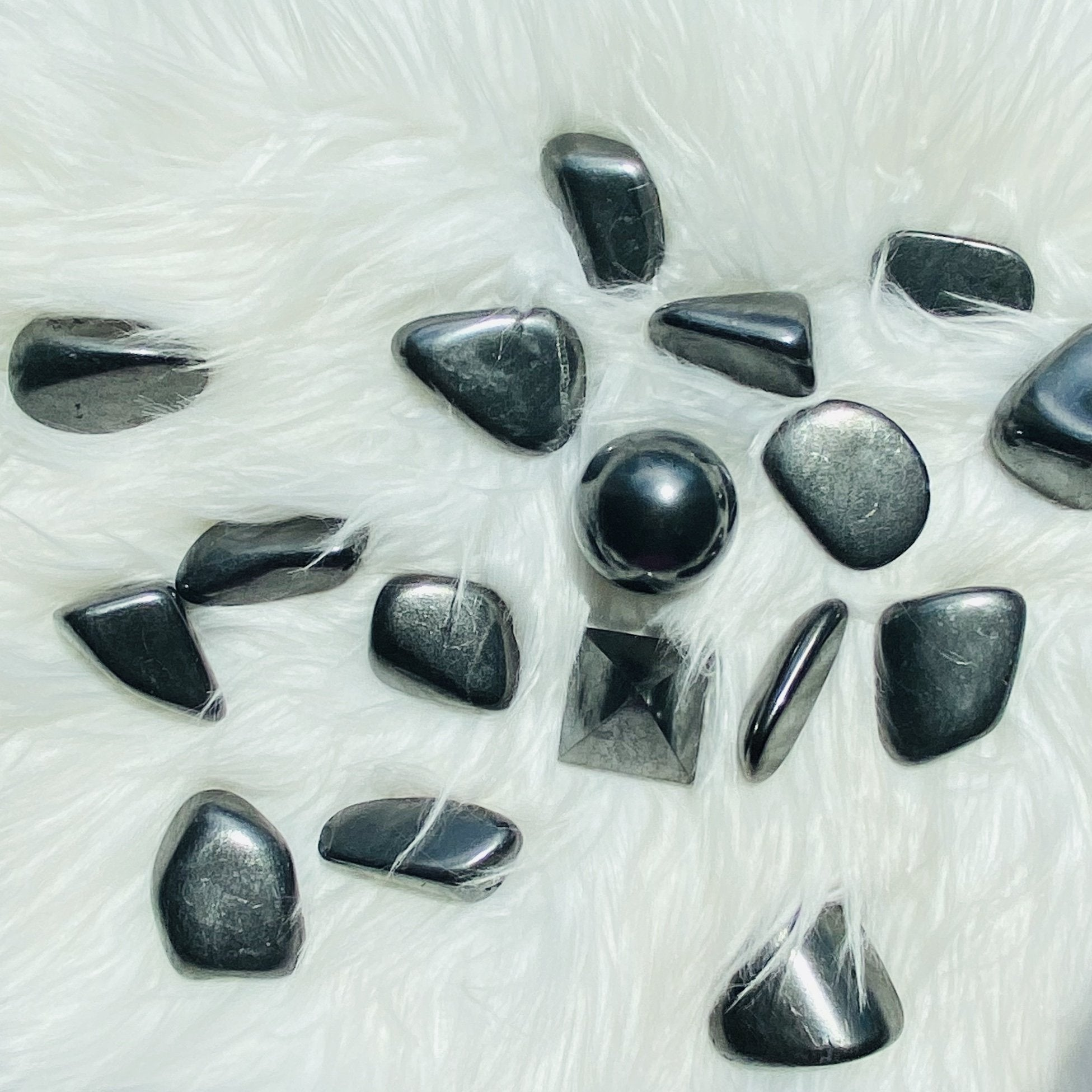 Shungite Tumbled Stones Large