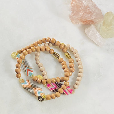 Handmade tribe bracelet for giving to your friends, faith