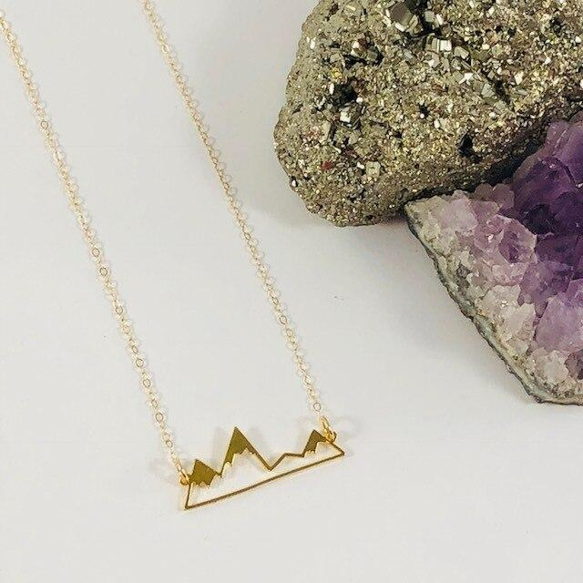 Mountains Charm Necklace