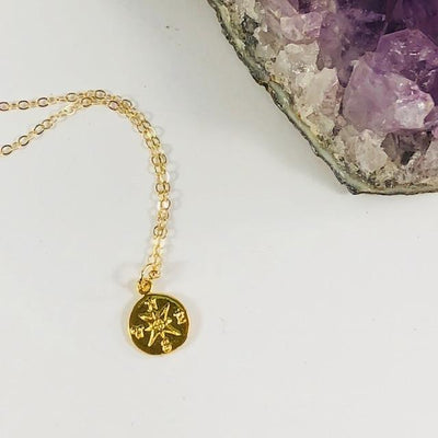 Compass Charm Necklace Perfect Gift for a Loved One