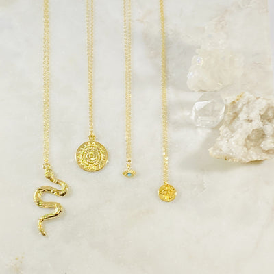 Handmade inspiring necklaces by Sarah Belle