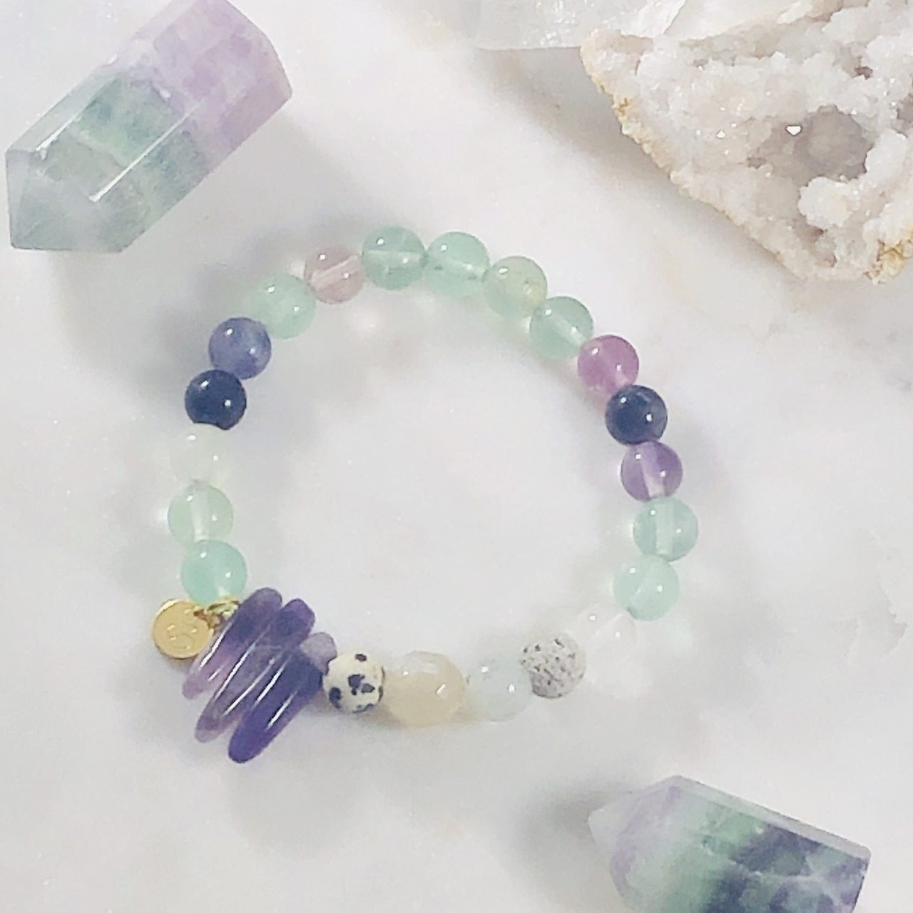Inner Knowing Stacking Bracelet (Diffuser)