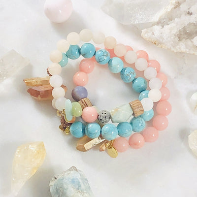 handmade crystal healing bracelets for inspiring the spirit
