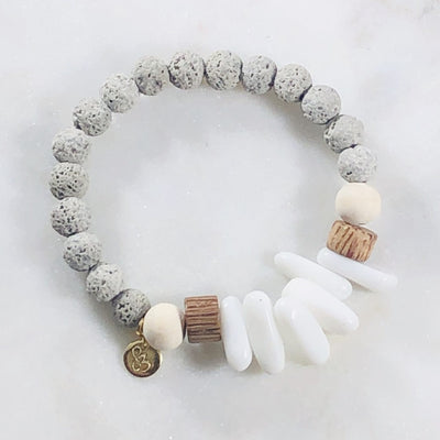 Bracelet of the Month! - Mindful Stacking Bracelet (Diffuser)
