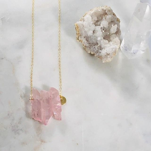 Miri Quartz Crystal Necklace