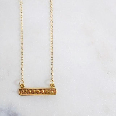 Moonphase Bar Necklace