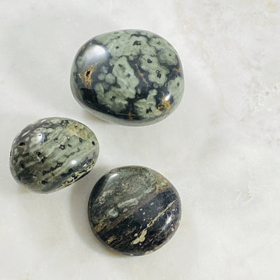 Ocean Jasper Palmstone Crystal Energy for Communication and Grounding