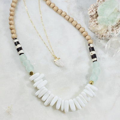 Handmade boho necklaces from Sarah Belle