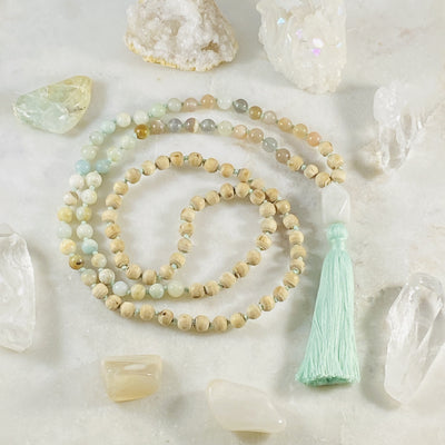 Peace mala for spiritual practice by Sarah Belle