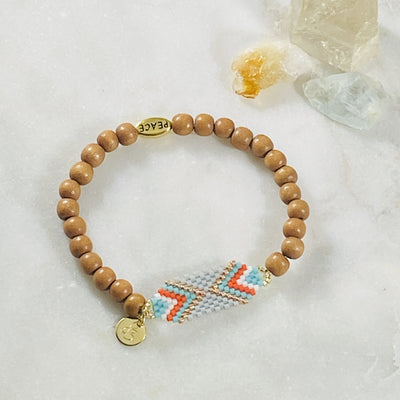 Handmade tribe bracelet for giving to your friends