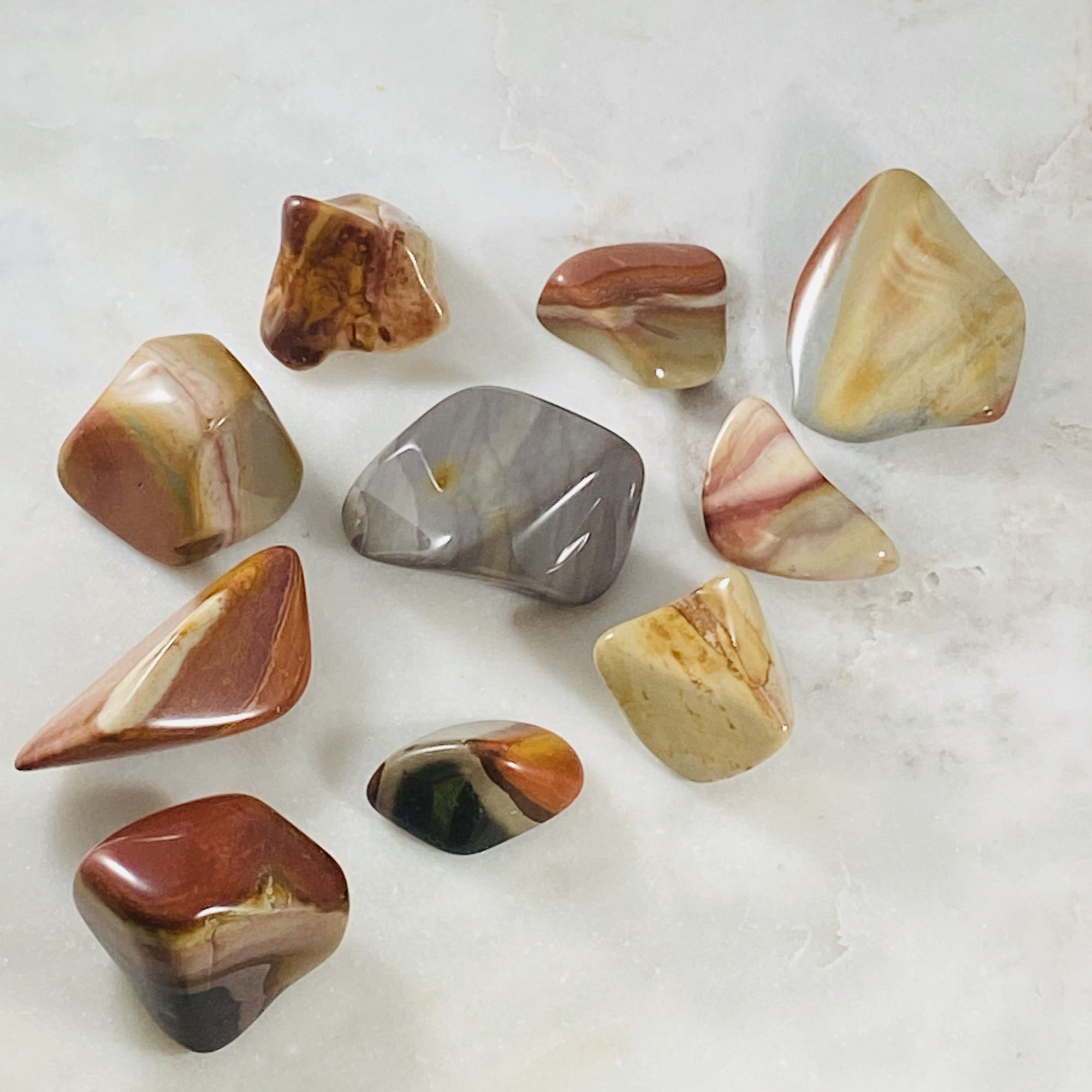 Polychrome jasper for nurturing the spirit