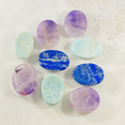Worry stones for relieving stress and anxiety