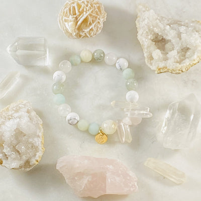 Custom Gemstone Bracelet by Sarah Belle