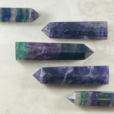 Fluorite Point Medium for easing up chaos, energy healing and blocking negative energy.