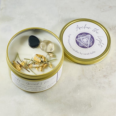 anchor the light high frequency candle for grounding and purifying