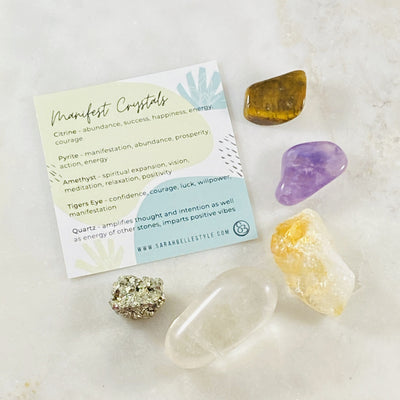 Healing crystal energy for manifesting by Sarah Belle