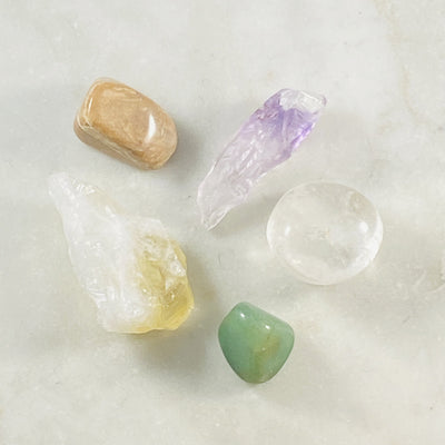 new moon crystals