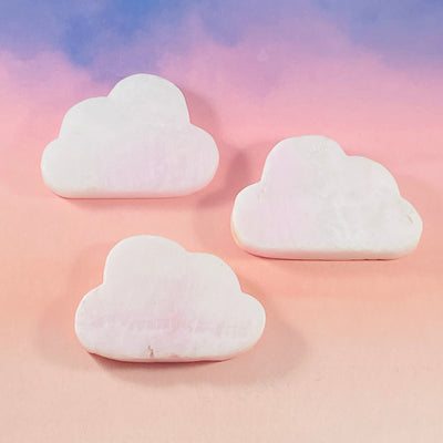 Pink aragonite cloud for heart chakra from Sarah Belle
