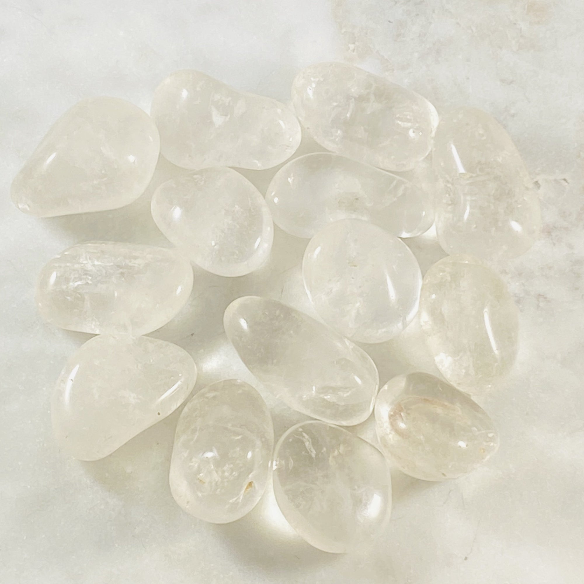 Healing quartz crystal for clearing negativity